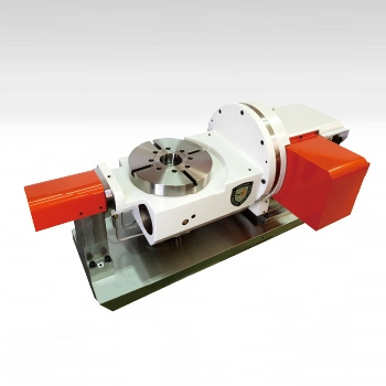 RTB Series Zero Backlash Roller Gear Cam Titling 2-Axis Rotary Table