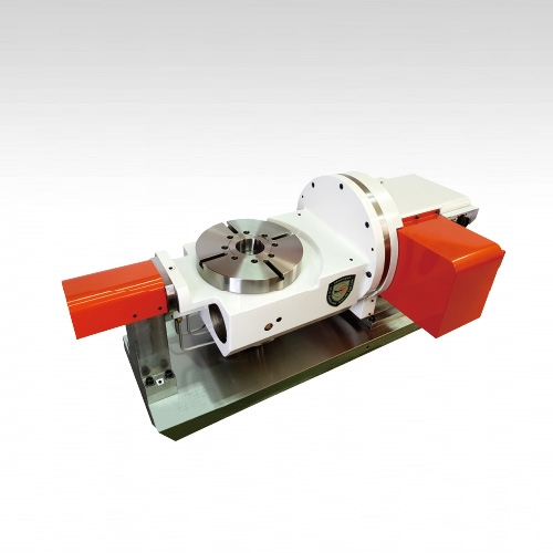 Zero Backlash Roller Gear Cam Titling 2-Axis Rotary Table